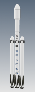 Falcon Heavy 3D model